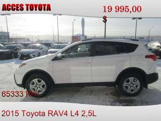 Used 2015 Toyota RAV4 AWD LE for sale in Rouyn-Noranda, QC