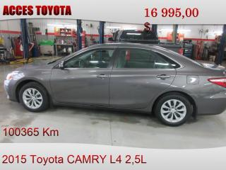 Used 2015 Toyota Camry HYBRID LE for sale in Rouyn-Noranda, QC