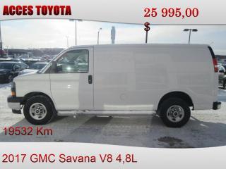Used 2017 GMC Savana 2500 for sale in Rouyn-Noranda, QC