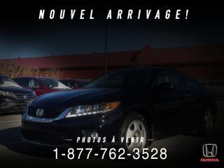 Used 2015 Honda Accord EX-L automatique V6 2 portes avec Navi for sale in St-Basile-le-Grand, QC
