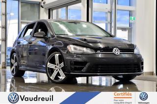 Used 2016 Volkswagen Golf R * DSG * 19 POUCES for sale in Vaudreuil-Dorion, QC