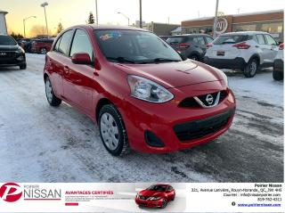 Used 2016 Nissan Micra SV for sale in Rouyn-Noranda, QC