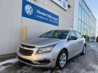 Used 2015 Chevrolet Cruze 1LS 4dr FWD Sedan - LOW KMS! for sale in Edmonton, AB