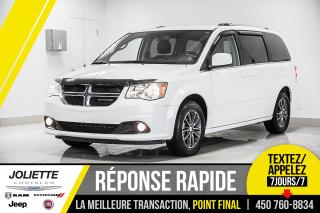 Used 2017 Dodge Grand Caravan SXT PRENIUM PLUS, BLUETOOTH, STOW'N GO, CUIR!! for sale in Joliette, QC