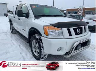 Used 2012 Nissan Titan Pro-4X for sale in Rouyn-Noranda, QC