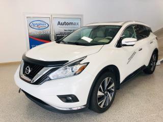 Used 2017 Nissan Murano Platinum for sale in Rouyn-Noranda, QC