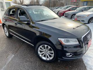 Used 2014 Audi Q5 2.0L Progressiv/ AUTO/ AWD/ NAVI/ LEATHER/ SUNROOF for sale in Scarborough, ON