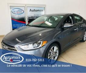 Used 2017 Hyundai Elantra Limited for sale in Rouyn-Noranda, QC
