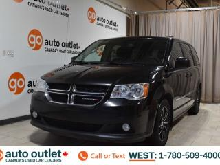 Used 2017 Dodge Grand Caravan Crew Plus, 3.6L V6, Fwd, Heated leather seats, Heated steering wheel, Backup camera, Bluetooth for sale in Edmonton, AB