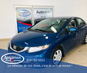 Used 2015 Honda Civic LX for sale in Rouyn-Noranda, QC