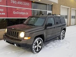 Used 2016 Jeep Patriot High Altitude / Sunroof / Heated Front Seats for sale in Edmonton, AB