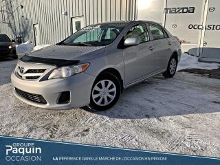 Used 2012 Toyota Corolla CE AUBAINE! for sale in Rouyn-Noranda, QC