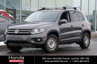 Used 2016 Volkswagen Tiguan COMFORTLINE 4 MOTION BAS KM AWD CUIRETTE TOIT PANORAMIQUE++ for sale in Lachine, QC