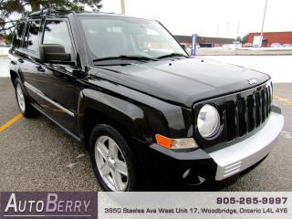 Used 2010 Jeep Patriot Limited - 4WD - Leather for sale in Woodbridge, ON