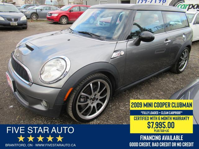 2009 MINI Cooper Clubman S *Clean Carfax* Certified w/ 6 Month Warranty