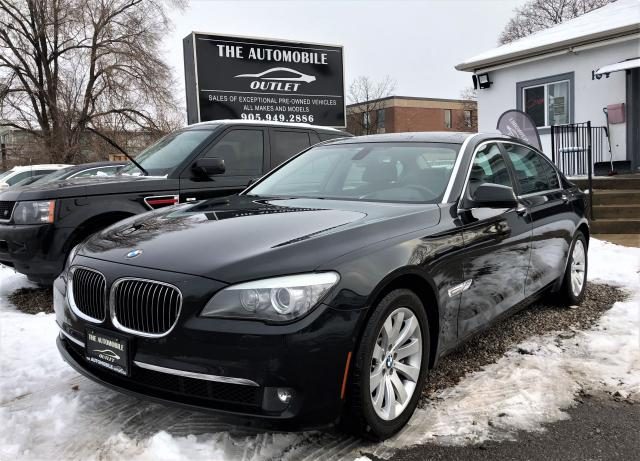 2009 BMW 750Li LOW KMS LOADED NAVI PARKING CAM DVD NO ACCIDENT