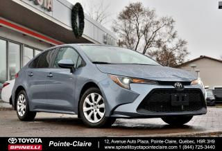 Used 2020 Toyota Corolla LE COMME NEUF! for sale in Pointe-Claire, QC