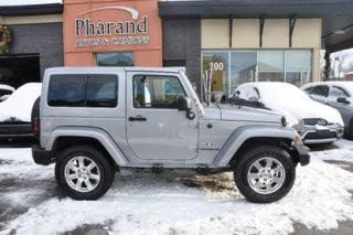 Used 2016 Jeep Wrangler Sahara for sale in Vaudreuil-Dorion, QC