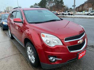 Used 2013 Chevrolet Equinox BK UP CAM-PWR SEATS-AUX-BLUETOOTH-ECO-MUST SEE! for sale in Scarborough, ON
