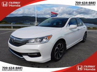 Used 2017 Honda Accord Sedan EX-L for sale in Corner Brook, NL