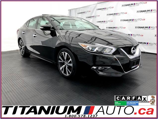 2016 Nissan Maxima Platinum+GPS+360 Camera+Pano Roof+Cooled Seats+BSM