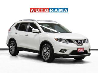 Used 2015 Nissan Rogue SL Tech Pkg 4WD Nav Leather Sunroof Backup Cam for sale in Toronto, ON
