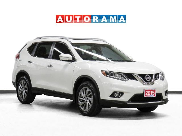 2015 Nissan Rogue SL Tech Pkg 4WD Nav Leather Sunroof Backup Cam