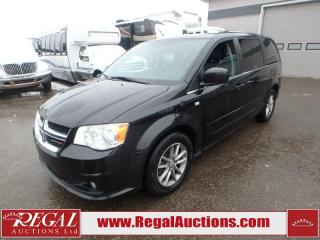 Used 2014 Dodge GRAND CARAVAN 30TH ANNIVERSARY WAGON 3.6L for sale in Calgary, AB