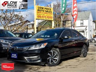 Used 2016 Honda Accord Sedan EXL*Leather*Sunroof*Camera*Automatic*HondaWarranty for sale in Toronto, ON