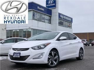 Used 2015 Hyundai Elantra 4dr Sdn Auto Limited for sale in Toronto, ON