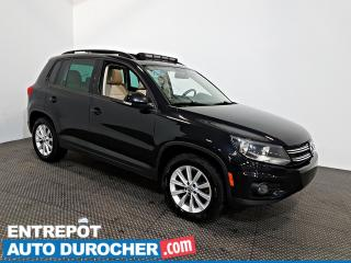 Used 2014 Volkswagen Tiguan AWD TOIT OUVRANT - AIR CLIMATISÉ - Cuir for sale in Laval, QC