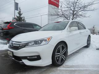 Used 2016 Honda Accord Sedan 4dr I4 CVT Sport | HONDA CERTIFIED | for sale in Brampton, ON