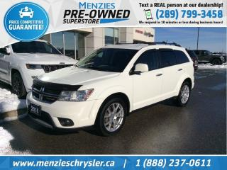 Used 2016 Dodge Journey RT AWD, Bluetooth, Cam, Leather for sale in Whitby, ON