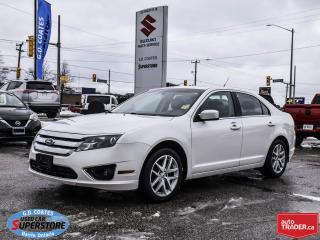 Used 2011 Ford Fusion SEL ~Heated Leather ~Power Moonroof ~Power Seat for sale in Barrie, ON
