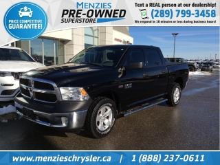 Used 2013 RAM 1500 SXT Hemi, Sirius, Tonneau, Alloys, Clean Carfax for sale in Whitby, ON