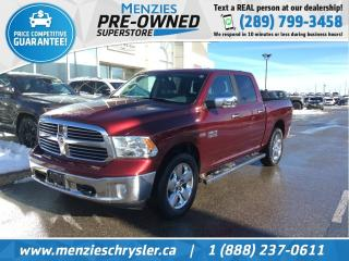 Used 2017 RAM 1500 Big Horn Hemi 4x4, One Owner, Clean Carfax for sale in Whitby, ON
