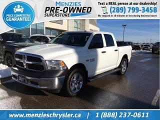 Used 2017 RAM 1500 SXT, Hemi 4x4, Bluetooth, One Owner, Clean Carfax for sale in Whitby, ON