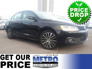 Used 2014 Volkswagen Jetta 1.8 TSI Highline SUNROOF LEATHER for sale in Ottawa, ON