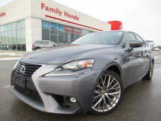 Used 2015 Lexus IS 250 4dr Sdn AWD | NAVIGATION | PUSH START | for sale in Brampton, ON
