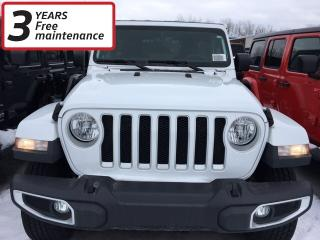 New 2020 Jeep Wrangler Unlimited Sahara for sale in Smiths Falls, ON