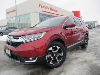 Used 2017 Honda CR-V AWD 5dr Touring | NAVI | HEATED SEATS | HONDA CERT for sale in Brampton, ON