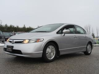 Used 2007 Honda Civic Hybrid ONE OWNER / ACCIDENT FREE for sale in Newmarket, ON