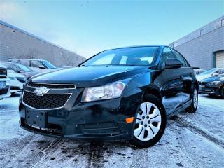 Used 2013 Chevrolet Cruze 4dr Sdn LT Turbo w/1SA|ALLOYS|BLUETOOTH|CERTIFIED & MORE!! for sale in Brampton, ON