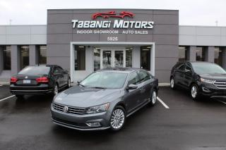 Used 2016 Volkswagen Passat TSI I LEATHER I SUNROOF I BLIND SPOT I REAR CAM I HEATEDSEAT for sale in Mississauga, ON