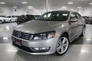 Used 2012 Volkswagen Passat TDI I NO ACCIDENTS I NAVIGATION I LEATHER I SUNROOF I BT for sale in Mississauga, ON