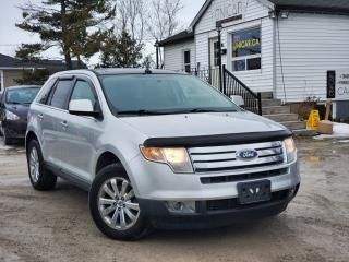 Used 2010 Ford Edge Limited AWD Panoroof Leather Power Heated Seats Bluetooth for sale in Sutton, ON