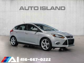 Used 2013 Ford Focus TITANIUM PKG NAVIGATION BACK UP CAMERA BLUTOOTH for sale in North York, ON