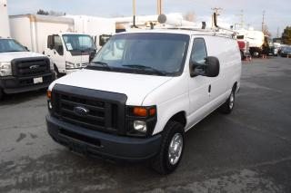 Used 2012 Ford Econoline E-150 Cargo Van with Shelving and Ladder Rack for sale in Burnaby, BC