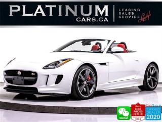 Used 2016 Jaguar F-Type S, AWD, CONVERTIBLE, NAV, CAM, MERIDIAN for sale in Toronto, ON