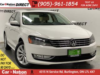 Used 2013 Volkswagen Passat 2.0 TDI Highline| LEATHER| SUNROOF| NAVI| for sale in Burlington, ON
